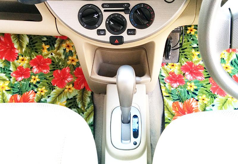 助手席、運転席設置例